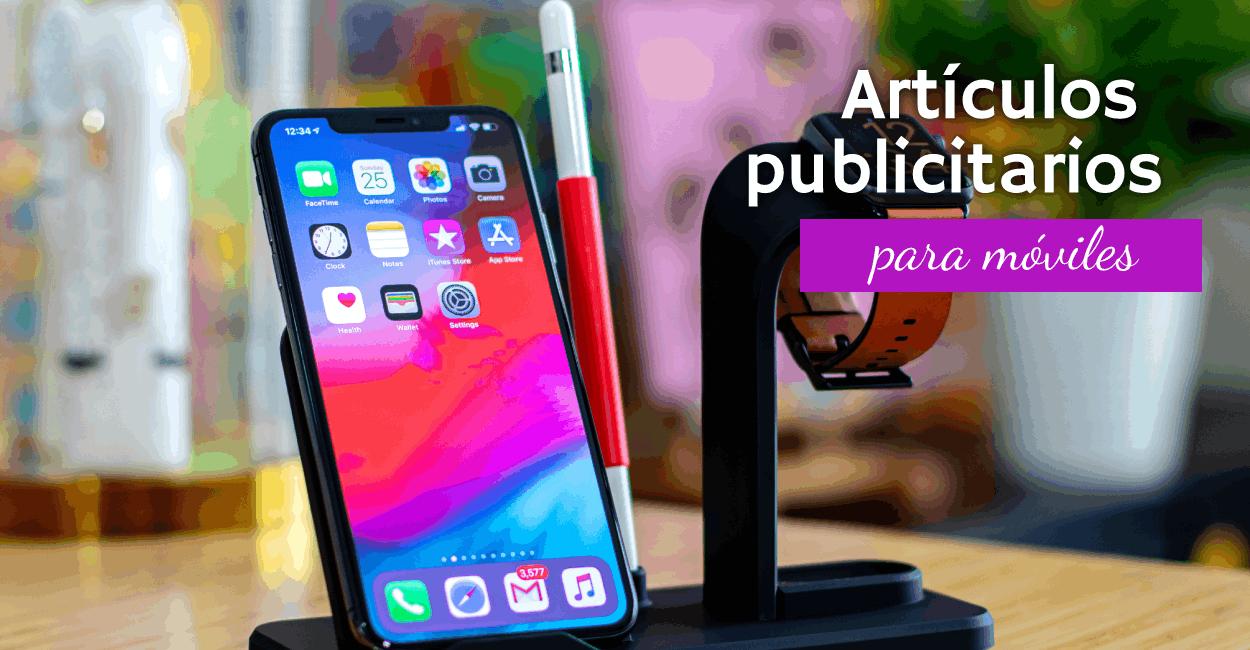 artículos publicitarios para móviles