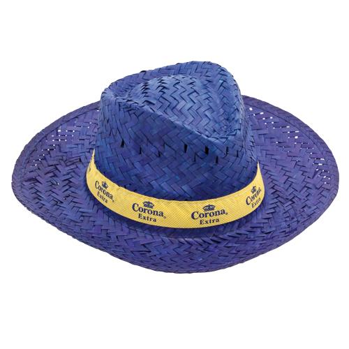 Sombrero de paja de colores - Regalos promocionales y artículos ... 5d61c14f2ef