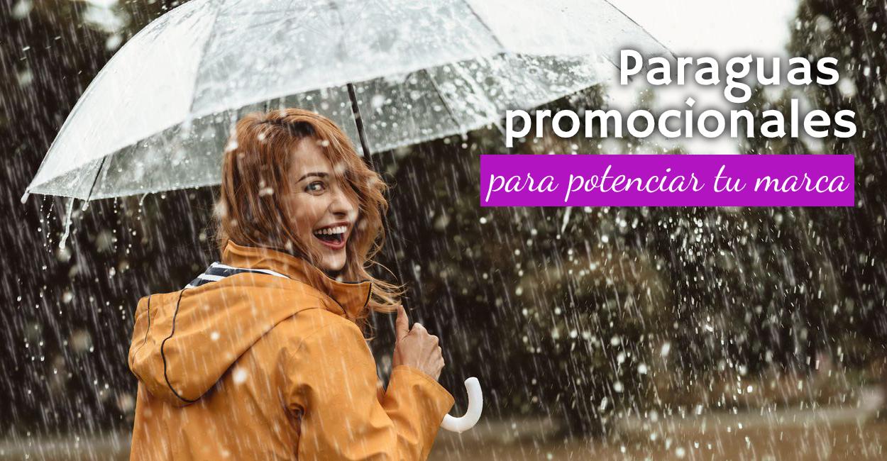 paraguas promocionales