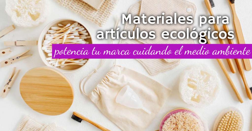 Artículos ecológicos