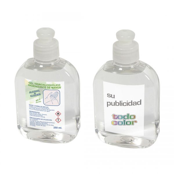 gel hidroalcoholico 250ml