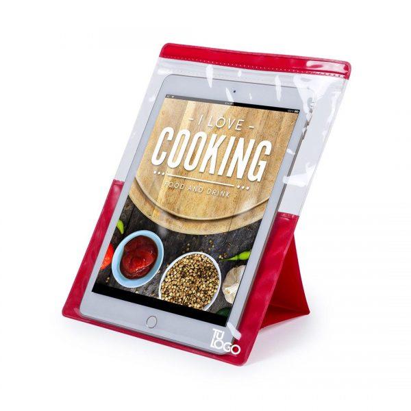 funda tablet cocina